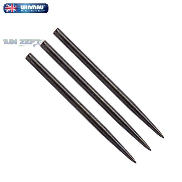 画像1: スティールティップ winmau 41mm エクストラロング ブラックポイント Extra Long Black Points (1)