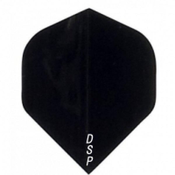 画像1: 無地 スタンダード POLY フライト ブラック DSP バルク (1)