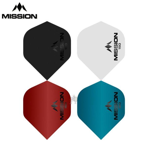 画像1: 特価 フライト Mission ロゴフライト 150ミクロン  NO.2 (1)