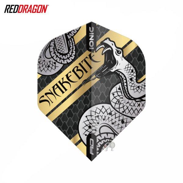 画像1: フライト Red Dragon スネークバイト ハードコア コイルド スネーク ゴールド (1)
