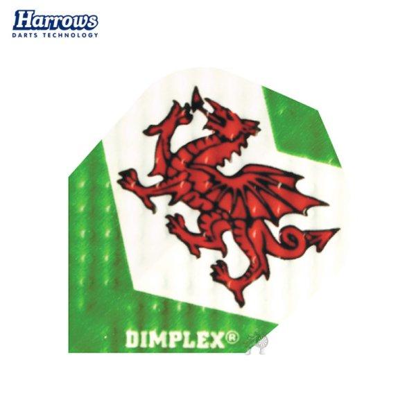 画像1: 特価 フライト Harrows Dimplex ウェールズ 75ミクロン No.6(シェイプ) Wales (1)
