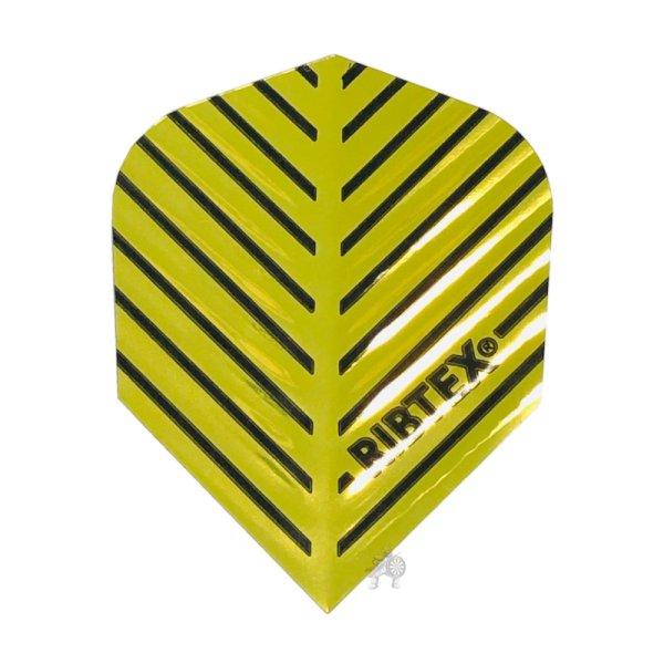 画像1: フライト RIBTEX エンボス&Vグルーブテクノロジー GOLD&BLACK No.6 メタリック (1)