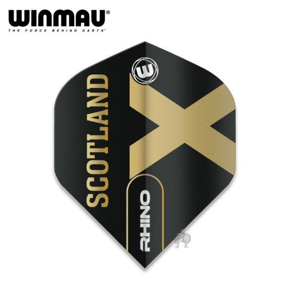 画像1: winmau2021 フライト RHINO Scotland スコットランド 100ミクロン (1)
