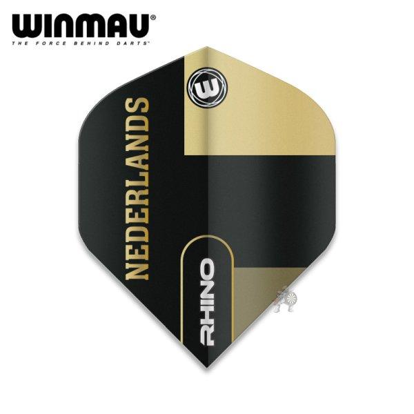 画像1: winmau2021 フライト RHINO Nederlands ネーデルラント(オランダ) 100ミクロン (1)