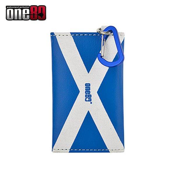 画像1: 特価 ケース one80 - 2018 スコットランド キャンバスウォレット カラビナ付き (1)